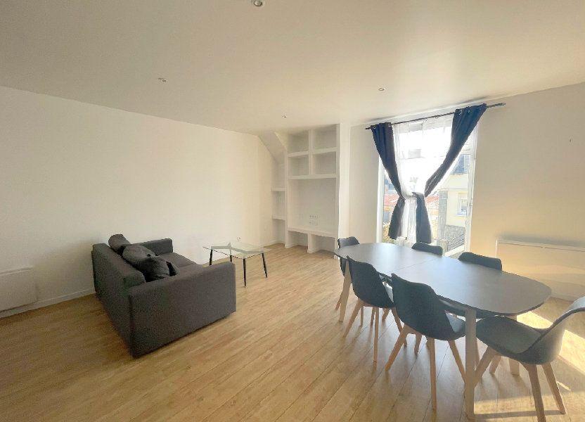 Appartement à louer 60m2 à Guingamp