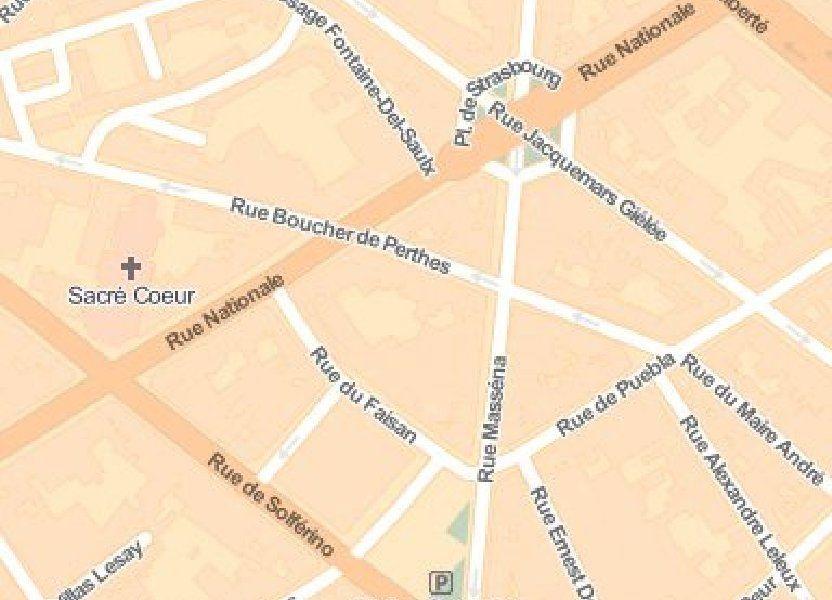 Stationnement à louer 10m2 à Lille