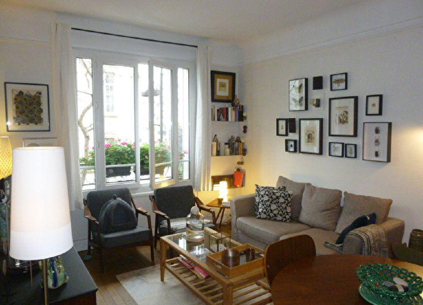 Appartement à louer 46m2 à Paris 15