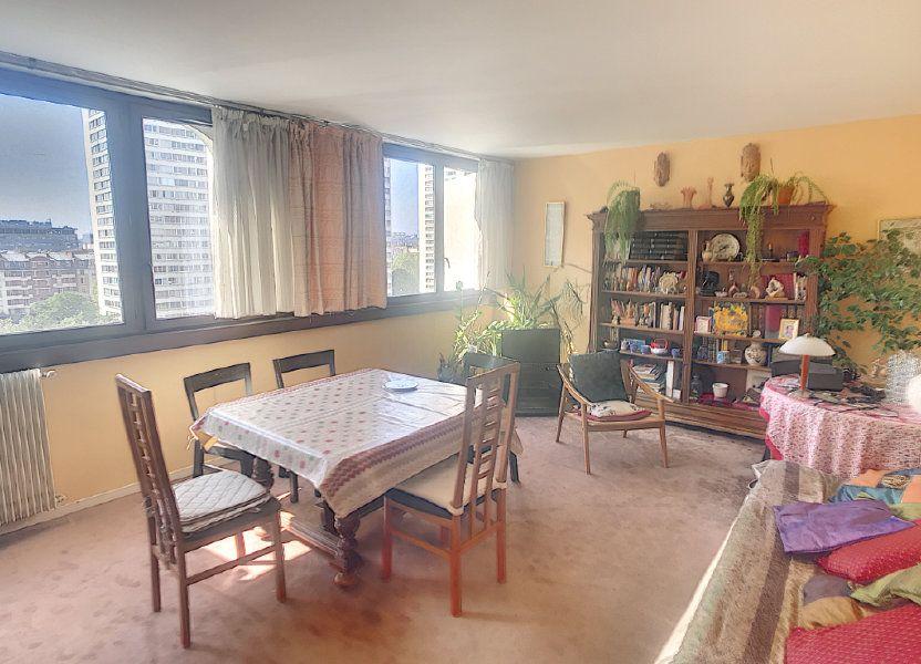 Appartement à vendre 84m2 à Paris 13
