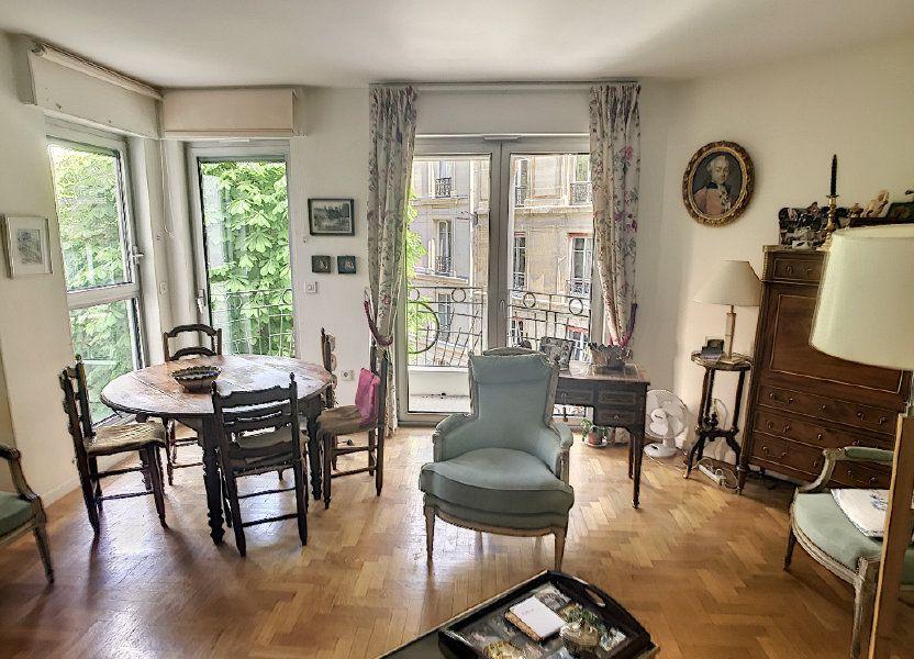Appartement à vendre 78m2 à Paris 16