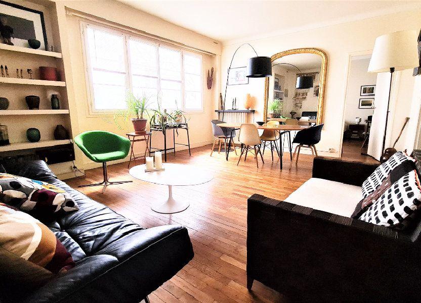 Appartement à vendre 66m2 à Paris 18