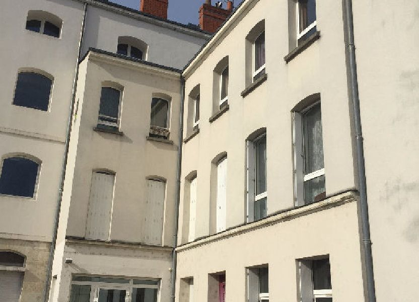 Appartement à louer 21.01m2 à Tours