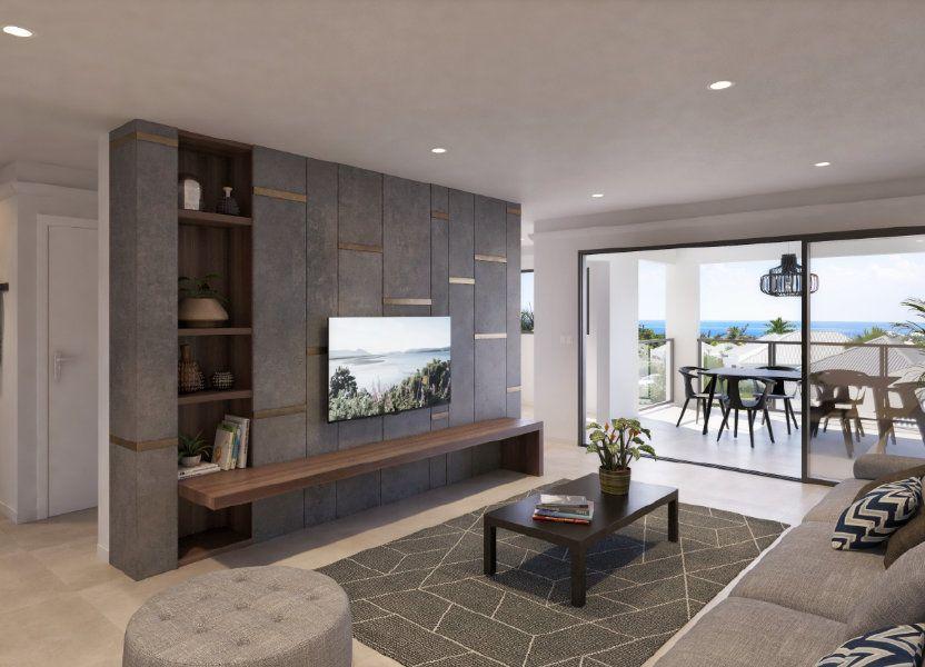 Appartement à vendre 71.4m2 à Saint-François