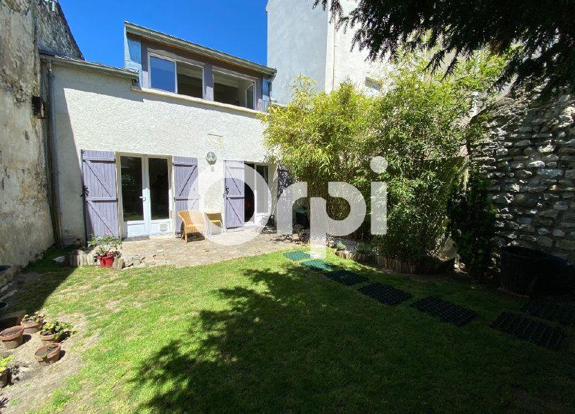 Maison à vendre 80m2 à Mantes-la-Jolie