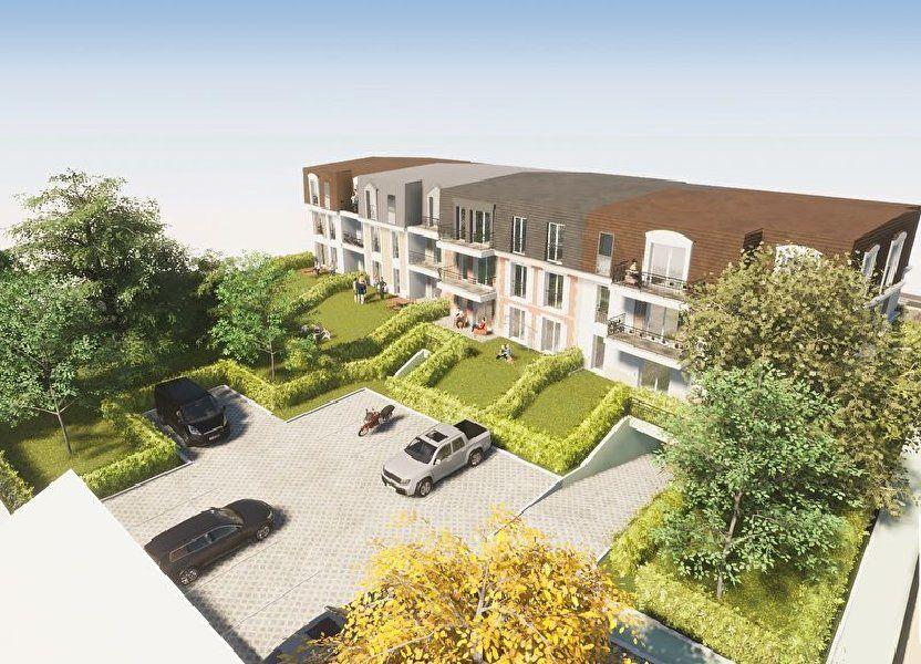 Appartement à vendre 58.4m2 à Le Mesnil-le-Roi