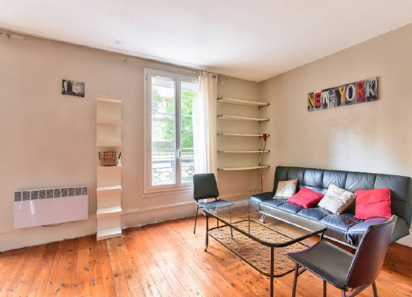 Appartement à louer 37.25m2 à Paris 18