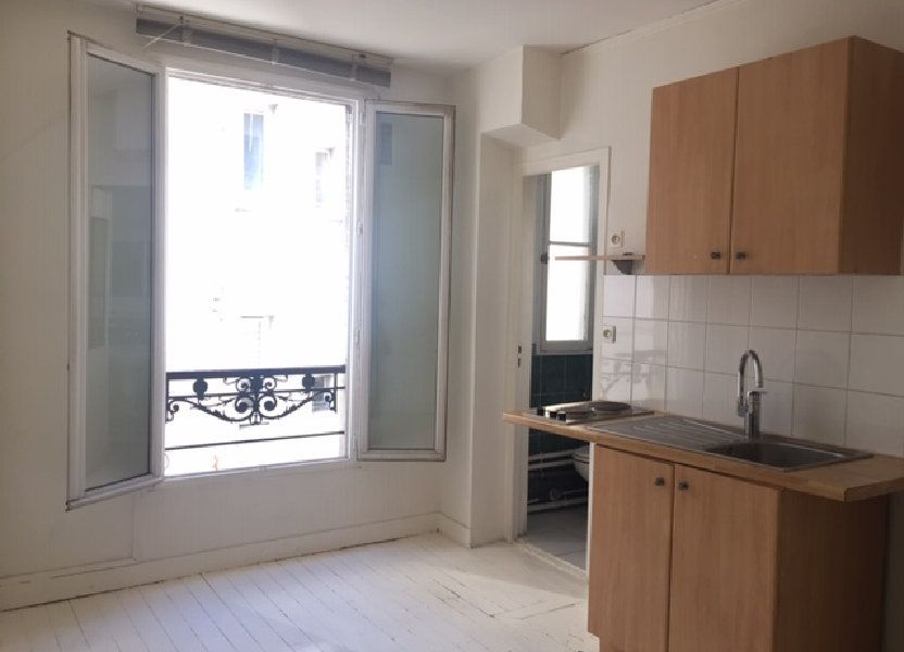 Appartement à louer 16.6m2 à Paris 20