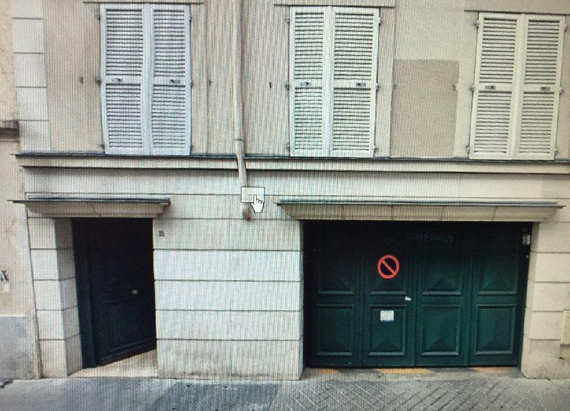 Stationnement à louer 0m2 à Paris 20