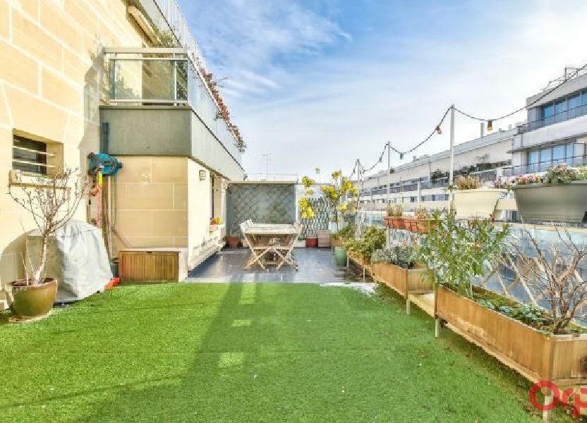 Appartement à vendre 106.63m2 à Paris 19
