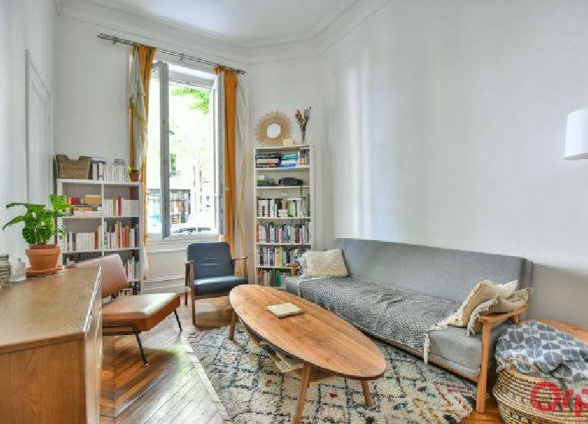 Appartement à vendre 48.71m2 à Paris 19
