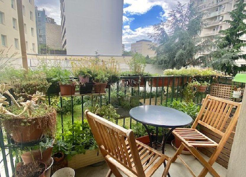 Appartement à vendre 71.75m2 à Paris 19