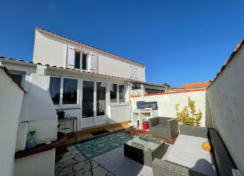 Maison à vendre 72m2 à Rivedoux-Plage