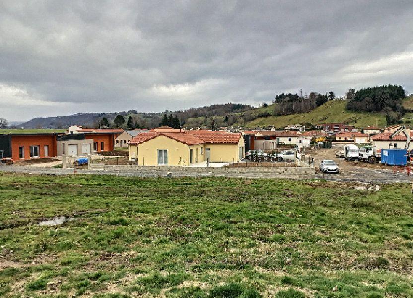 Terrain à vendre 849m2 à Vézac