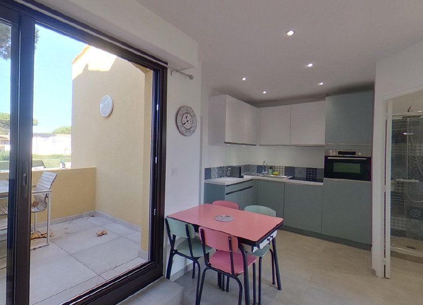 Appartement à vendre 25.44m2 à Le Cap d'Agde - Agde