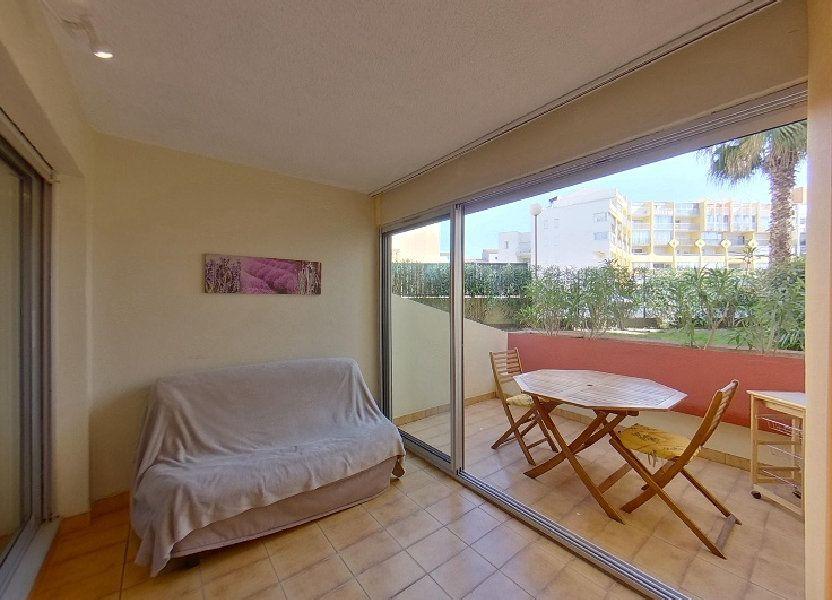 Appartement à vendre 24.75m2 à Le Cap d'Agde - Agde