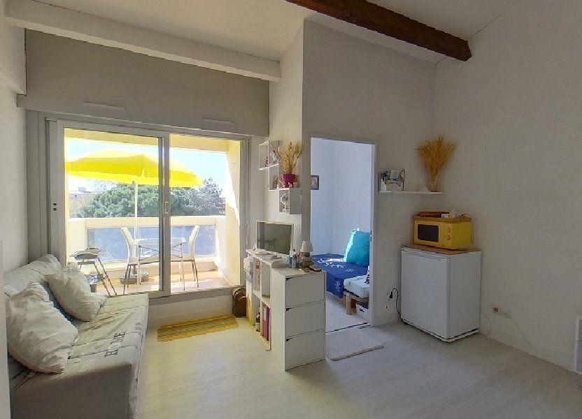 Appartement à vendre 24.18m2 à Le Cap d'Agde - Agde