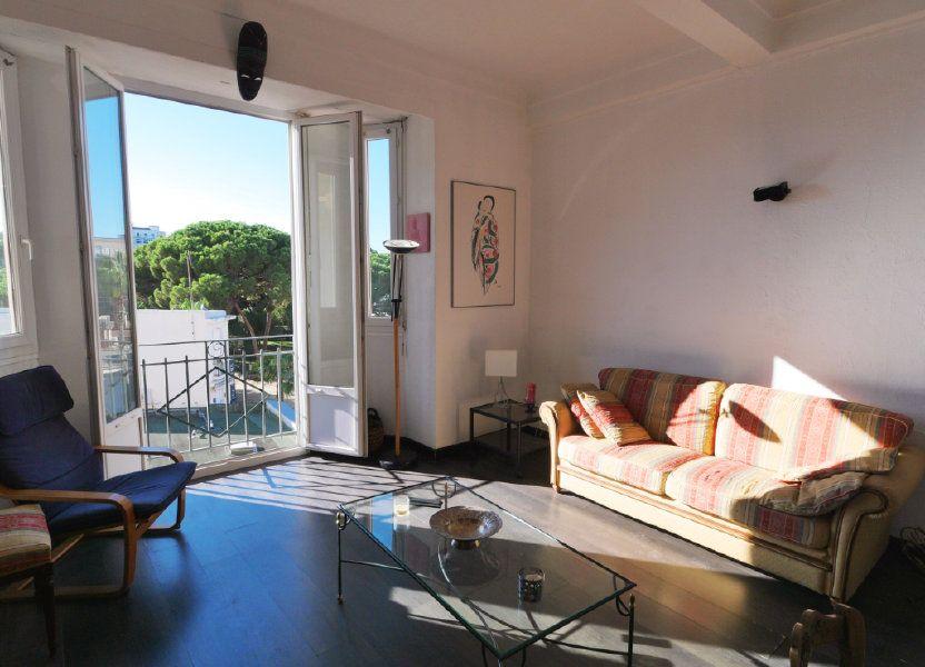Appartement à vendre 45.32m2 à Juan-les-Pins - Antibes