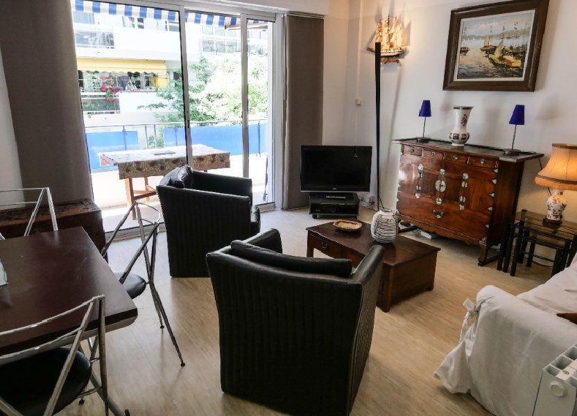 Appartement à louer 60.81m2 à Antibes