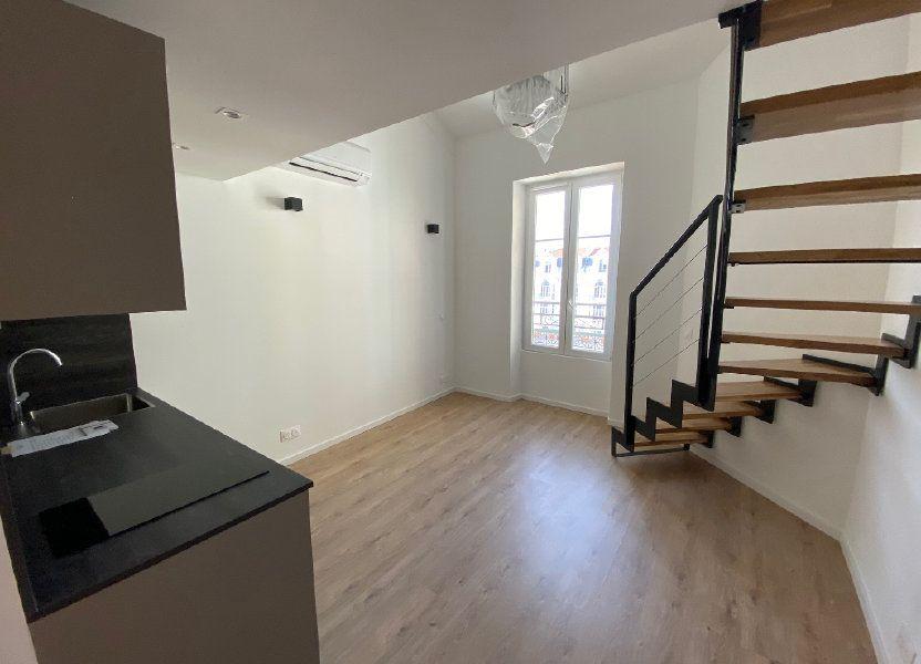 Appartement à vendre 24.57m2 à Nice