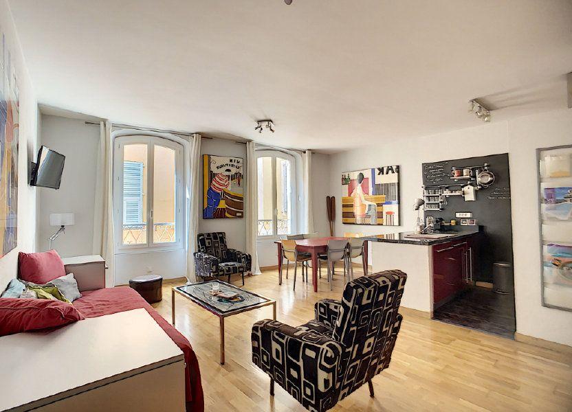 Appartement à vendre 49m2 à Nice