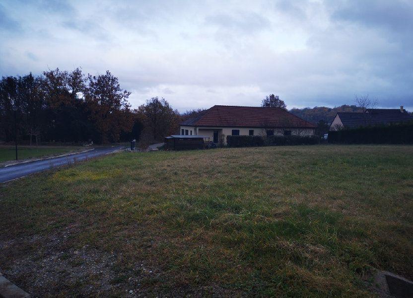 Terrain à vendre 1052m2 à Chasteaux