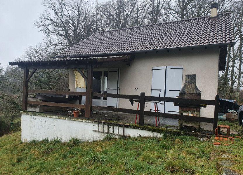 Maison à vendre 56m2 à Saint-Martial-de-Gimel