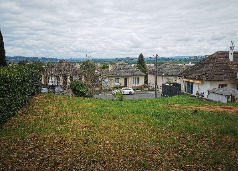 Terrain à vendre 522m2 à Brive-la-Gaillarde
