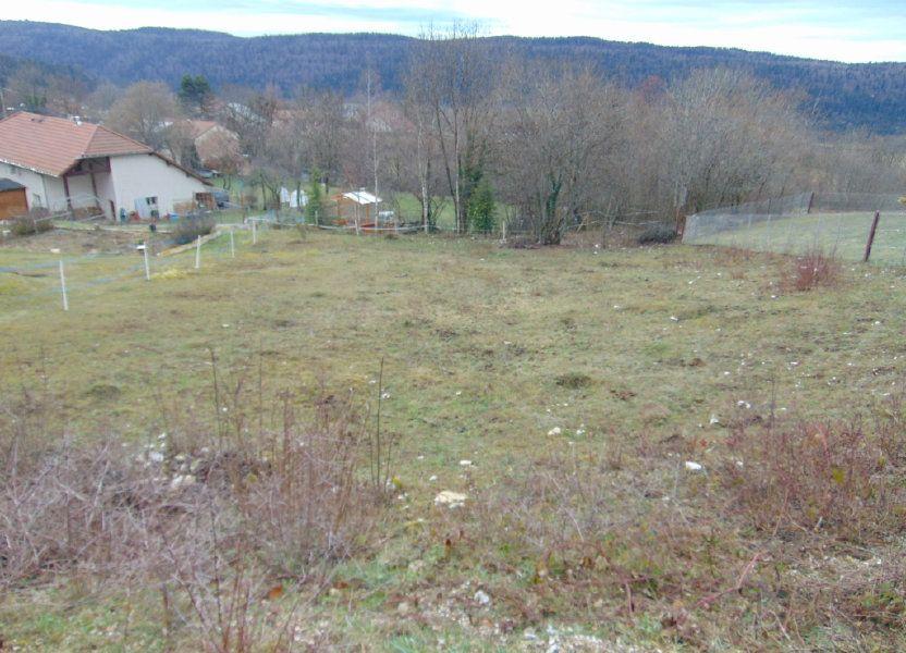 Terrain à vendre 816m2 à Cormaranche-en-Bugey