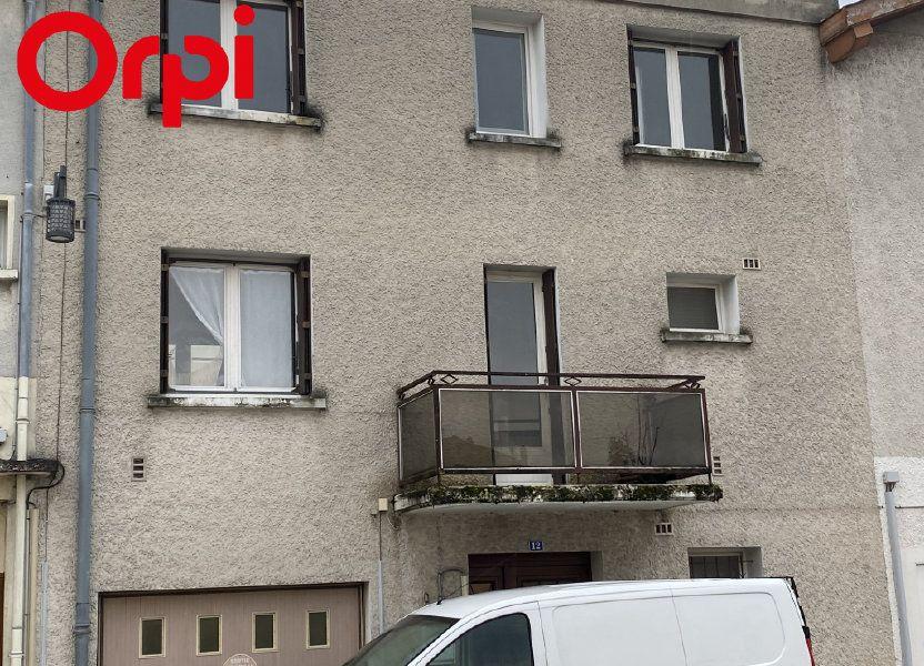 Maison à vendre 78m2 à Montrevel-en-Bresse