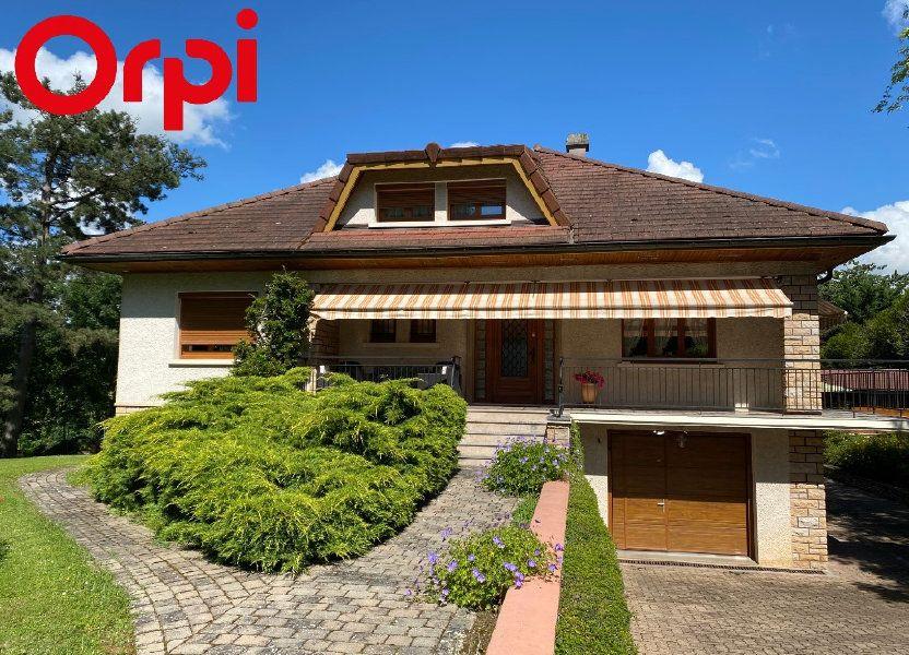 Maison à vendre 188m2 à Montrevel-en-Bresse