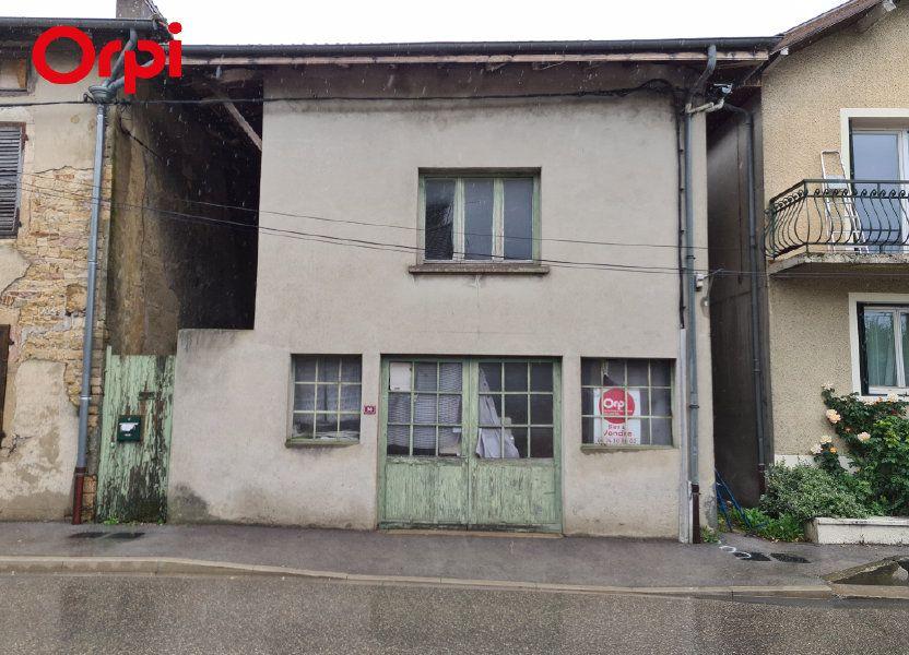 Maison à vendre 170m2 à Saint-Julien-sur-Reyssouze
