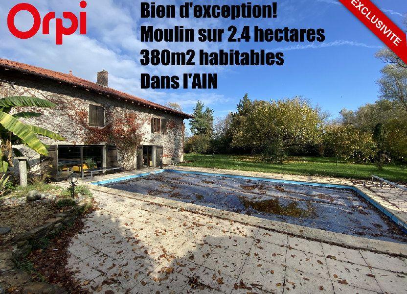 Maison à vendre 380.5m2 à Attignat