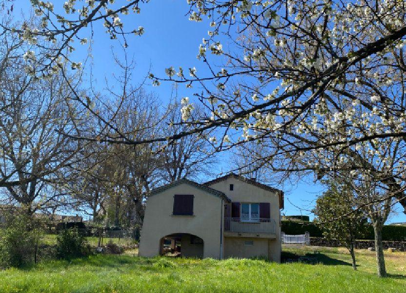Maison à vendre 50m2 à Berrias-et-Casteljau