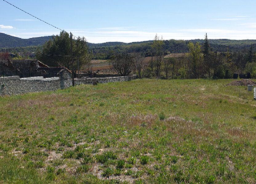 Terrain à vendre 1650m2 à Saint-André-de-Cruzières