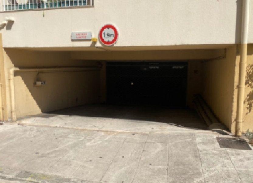 Stationnement à vendre 10.5m2 à Nice