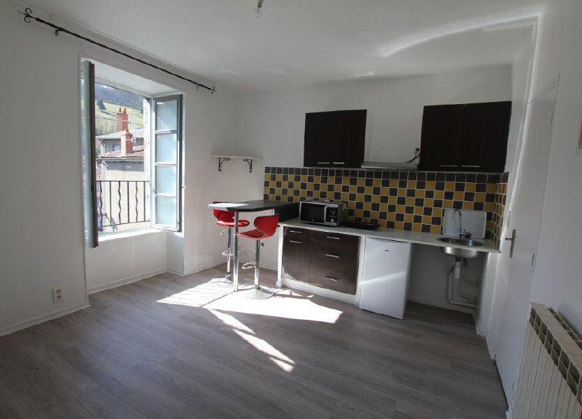 Appartement à louer 25m2 à Saint-Flour