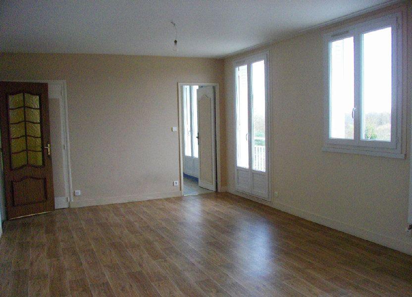 Appartement à louer 70.42m2 à Bourges