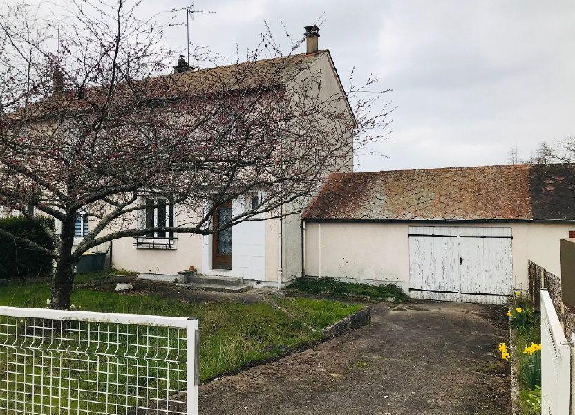 Maison à vendre 84m2 à Varennes-Vauzelles