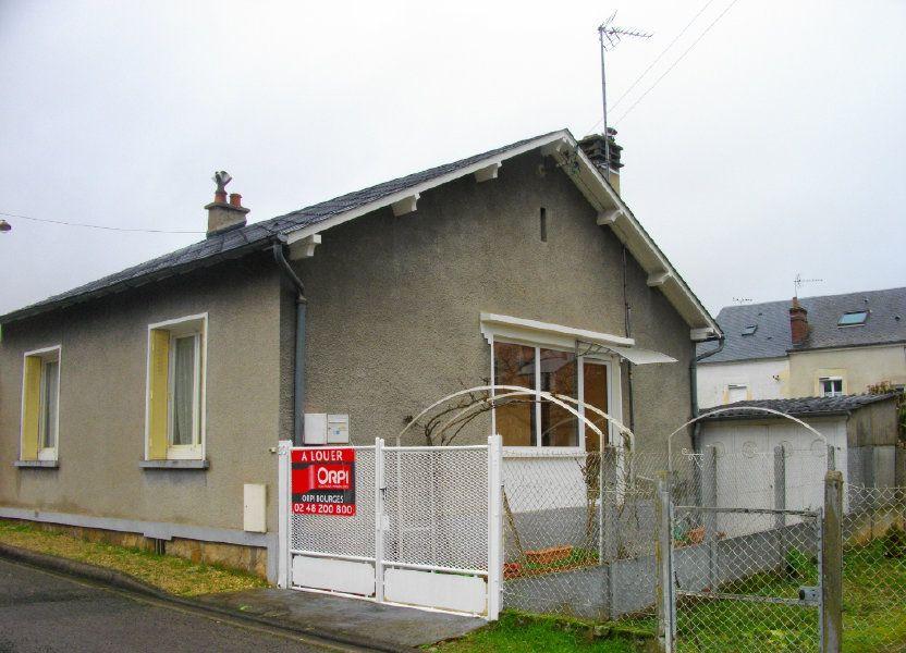 Maison à louer 51.7m2 à Bourges