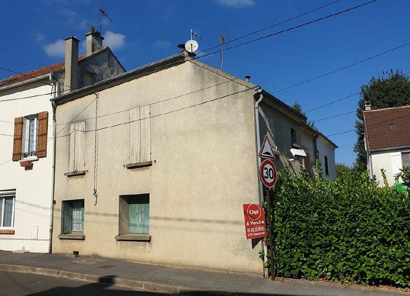 Maison à vendre 53m2 à Méry-sur-Marne