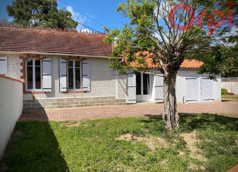 Maison à vendre 64m2 à Longeville-sur-Mer