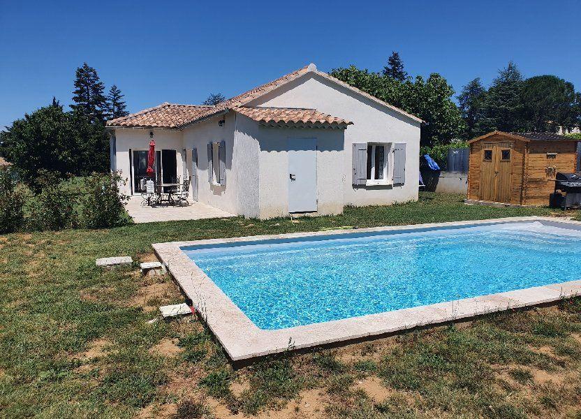 Maison à vendre 89m2 à Saint-Paulet-de-Caisson