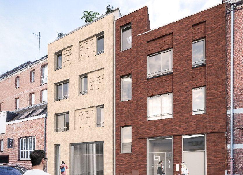Appartement à vendre 41.5m2 à Lille