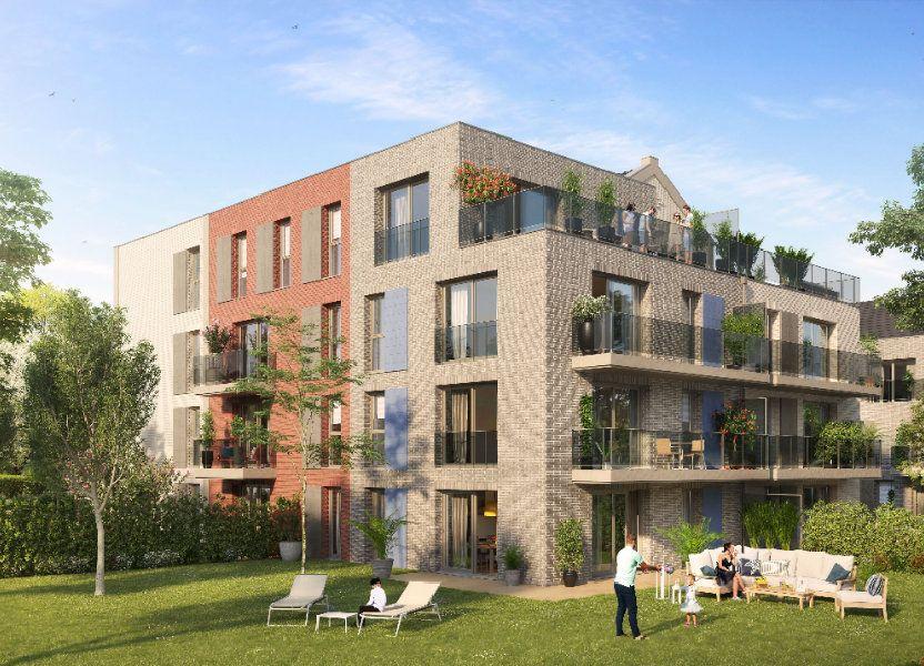 Appartement à vendre 45m2 à Mouvaux