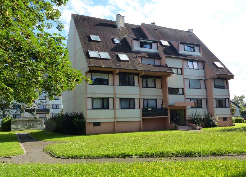 Appartement à louer 80.13m2 à Kingersheim