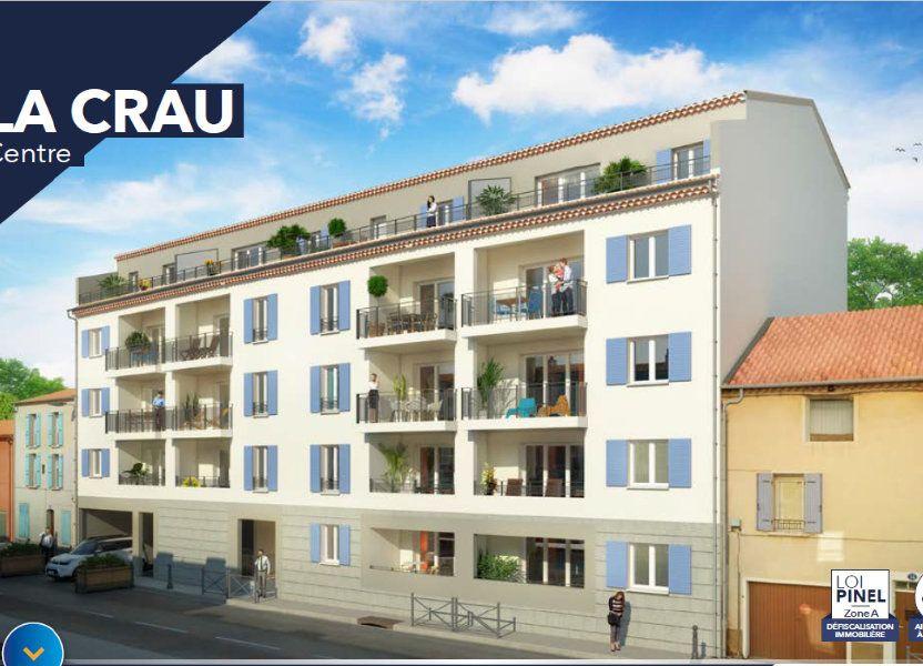 Appartement à vendre 56.21m2 à La Crau