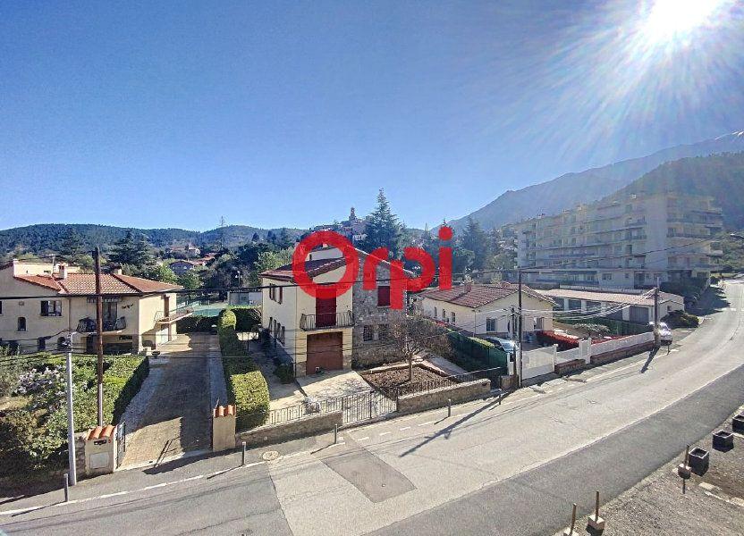 Appartement à vendre 62m2 à Vernet-les-Bains