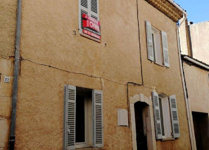 Maison à vendre 90m2 à Régusse