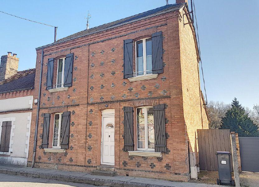 Maison à vendre 101m2 à Pierrefitte-sur-Sauldre